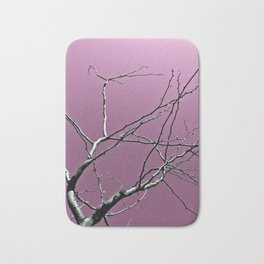 Reaching Violet Bath Mat