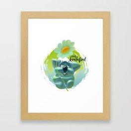 Totally Koalafied Framed Art Print