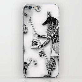 Anubis and Destiny's Child iPhone Skin