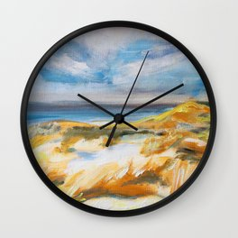 The Dunes in Ostend Wall Clock
