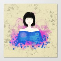 asian Canvas Prints featuring ASIAN by RArkhitek