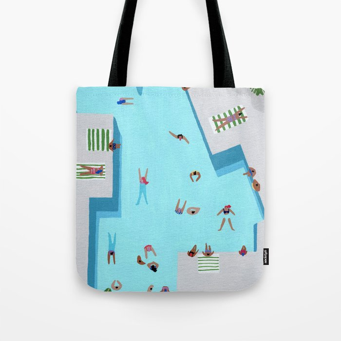 Crisp cut swim Tote Bag