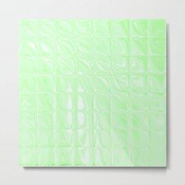 Square Glass Tiles 189 Metal Print