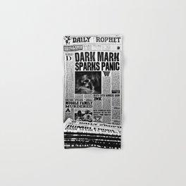 Daily Prophet newspaper Hand & Bath Towel