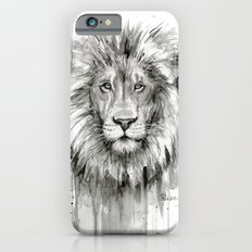 Lion Watercolor Animal Slim Case iPhone 6s