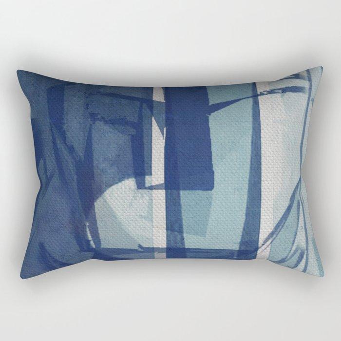La Mujer y la Agua Rectangular Pillow