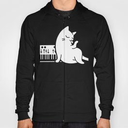 Synthesizer Cat Hoody