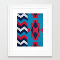 navajo Framed Art Prints featuring Navajo by RamonaRode
