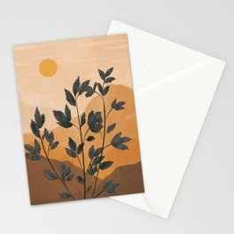 Plant Under a Dune Stationery Cards