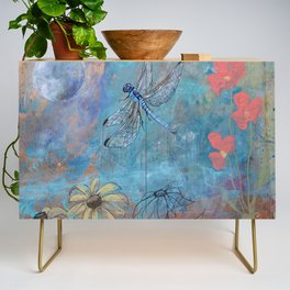 Dragonfly and Daymoon  Credenza