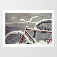 cycle Art Prints featuring Cycle by Kiersten Marie Photography