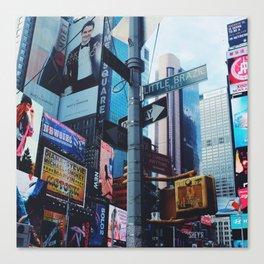 Little Brazil (Times Sq, New York) Canvas Print
