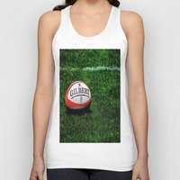 rugby Tank Tops featuring Rugby Time by Biff Rendar