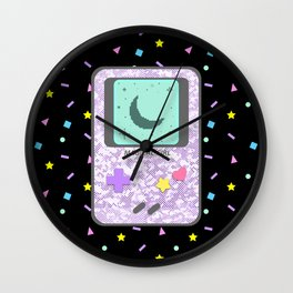 Magical Girl Game Console Wall Clock