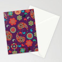 Paisley background  Stationery Cards