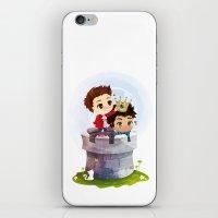 derek hale iPhone & iPod Skins featuring Hale Kingdom by siny