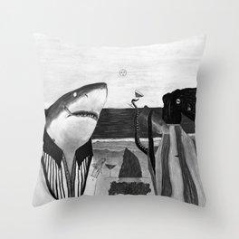 Cena Difusa Throw Pillow