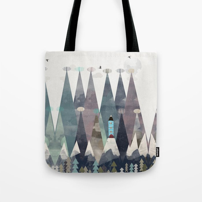the love nest Tote Bag