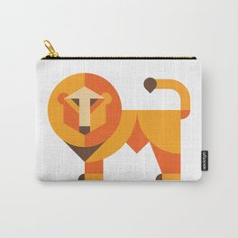 Geometric lion Carry-All Pouch
