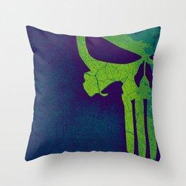 Punisher skull Throw Pillow