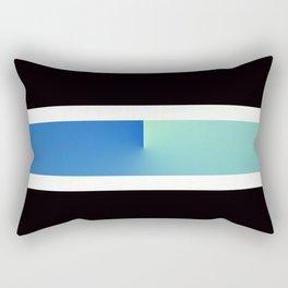 Team Colors 3...blue, aqua Rectangular Pillow