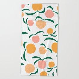 Peach Me Beach Towel