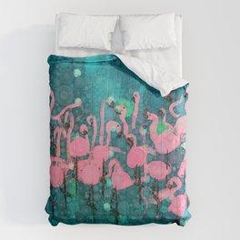 :: Flamingos Among Us :: Comforters