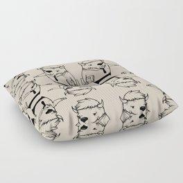 I'm a buffalo Floor Pillow