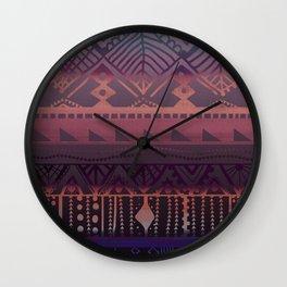 Tribal Paradise Wall Clock
