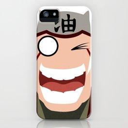 Jiraiya Pervy Face Simple iPhone Case
