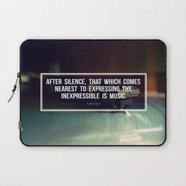After Silence Laptop Sleeve