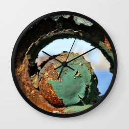 Rust on the Longfellow Wall Clock