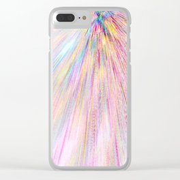 Re-Created Rapture 2 by Robert S. Lee Clear iPhone Case