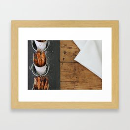 Sweet Potato Fries Kitchen Art Framed Art Print