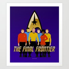 The Final Frontier Art Print