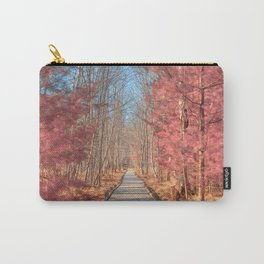 Jesup Boardwalk Trail - Tickle Me Pink Carry-All Pouch