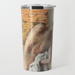 Edgar Degas - Naked lady. Après le bain Travel Mug