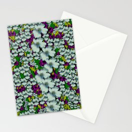 Tree from paradise cherry blossoms in sacred bloom Stationery Cards