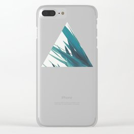 Yucca Leaves II Clear iPhone Case