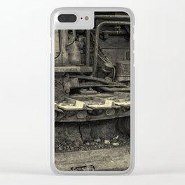 Tracks of the Warped Earth Mover Clear iPhone Case