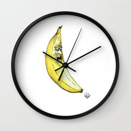 A Handsome Banana for Scale Wall Clock