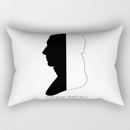 Jane Austen Persuasion Captain Wentworth  Rectangular Pillow