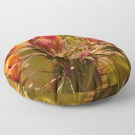 Cacti in Bloom - II Floor Pillow