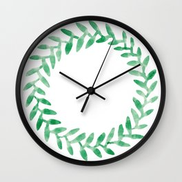 Leaf Series Wall Clock