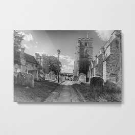 All Saints Church and Collegiate Buildings Metal Print