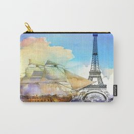 The boarding of the Eiffel Tower Carry-All Pouch
