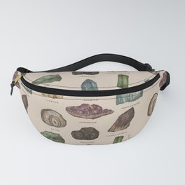 Gems and Minerals Fanny Pack
