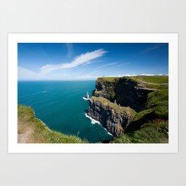 Ireland - Cliffs of Moher Art Print
