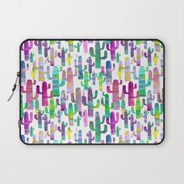 Watercolor Cacti - Pinks - Saguaros Laptop Sleeve