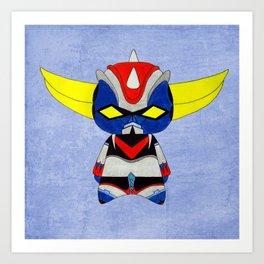 A Boy - Grendizer aka Goldorak Art Print